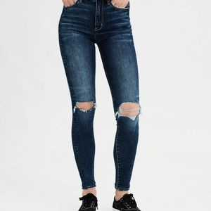 high waisted dark wash jeans ✨2 for $12✨